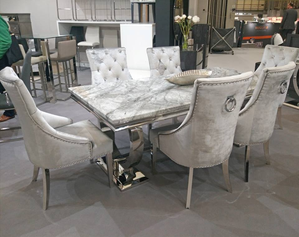 Arianna 180cm Table 6 Belvedere Chairs Mcginley S Furniture